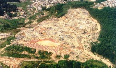 Plano de diretrizes para recuperação ambiental de área degradada - lixão do Alvarenga São Bernardo/S