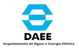 DAEE Departamento de Águas e Energia Elétrica