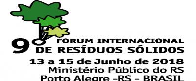 9º Fórum Internacional de Resíduos Sólidos